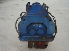 Trilblok HST015 met damwandklem